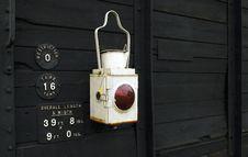 Free Railroad Lantern Royalty Free Stock Photos - 8203068