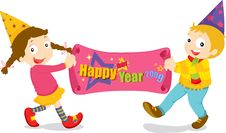 Free Happy New Year Royalty Free Stock Photos - 8203198
