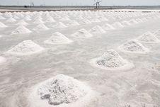 Salt Farm. Stock Photo