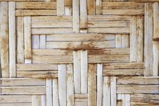 Bamboo Lattice Royalty Free Stock Images