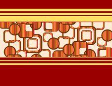 Free Round Squer Retro Background Stock Image - 8203981