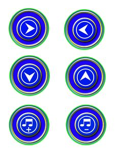 Free Icon Set Royalty Free Stock Image - 8203986
