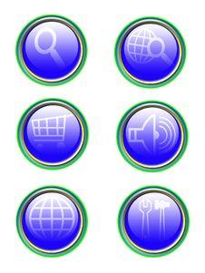 Free Refflection Icon Set Stock Image - 8204391