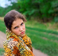 Free Sad Teen Girl Outdoor Stock Photo - 8206470