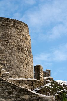 Castle Part Royalty Free Stock Image