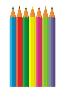 Free Pencils 1 Royalty Free Stock Photography - 8207767