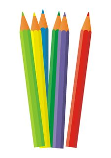 Pencils 10 Royalty Free Stock Photos