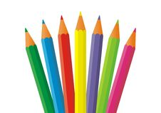 Pencils 11 Royalty Free Stock Photos