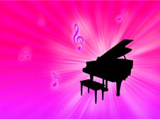 Free Piano Background Stock Images - 8208044