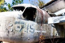 Free Old War Plane Nostalgia Royalty Free Stock Image - 8208286