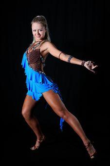 Free Blonde Latin Dancer Royalty Free Stock Images - 8208579