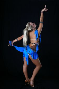 Free Latino Dancer Stock Photos - 8208613