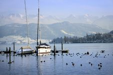 Quai Of Lucerne Stock Photo
