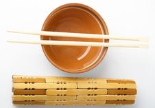 Free Chopstick Cup Royalty Free Stock Photography - 8209007