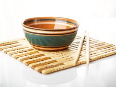 Free Chopstick Cup Stock Images - 8209064
