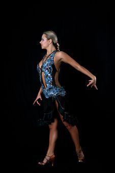 Free Blonde Latin Dancer Stock Photo - 8209190