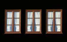 Free Three Windows Royalty Free Stock Photography - 8209237