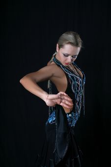 Latin Dancer Stock Image