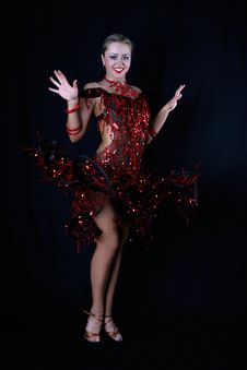 Free Latin Dancer Royalty Free Stock Photos - 8209468