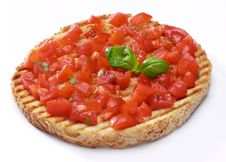 Free Bruschetta With Basil Royalty Free Stock Photo - 8209675