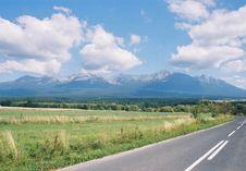 Free High Tatras Royalty Free Stock Image - 8209786