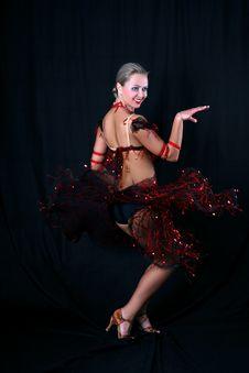 Free Latin Dancer Stock Photos - 8209813