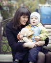 Free Mother With Baby Stock Photo - 8210370