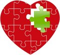 Free Red Puzzle Stock Images - 8210674