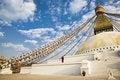 Free Bodhnath Stupa Royalty Free Stock Image - 8213866
