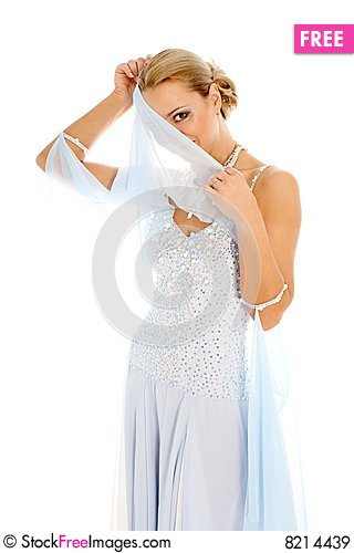 Free Dancer In Classical Dres Royalty Free Stock Images - 8214439