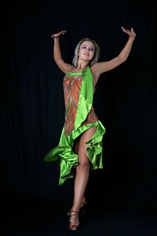 Free Latin Dancer Stock Images - 8210074