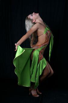 Free Latin Dancer Stock Photography - 8210112
