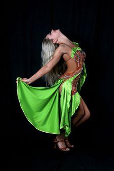 Free Girl Latin Dancer Stock Photography - 8210122