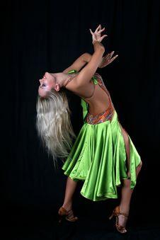 Free Latin Dancer Royalty Free Stock Image - 8210166