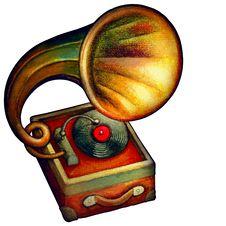 Free Old Gramophone Stock Photo - 8210280