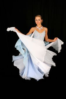 Free Blonde In Dance Royalty Free Stock Photos - 8210648
