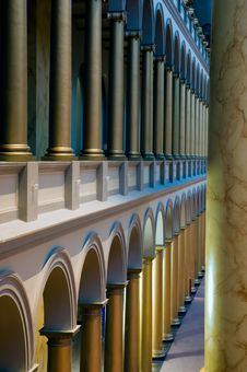 Columns And Arches Royalty Free Stock Photography