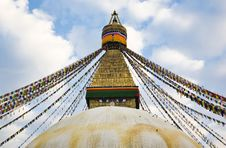 Free Bodhnath Stupa Royalty Free Stock Photography - 8211607