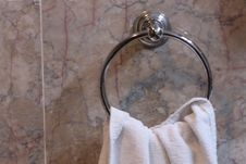 Free Towel Ring Stock Photography - 8212302