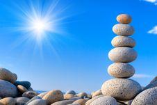 Free Stones Royalty Free Stock Image - 8212386