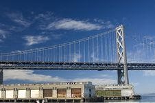 Free Bay Bridge And Pier Royalty Free Stock Photos - 8212448