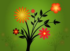 Free Floral Background Stock Photography - 8212712
