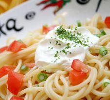 Free Pasta Royalty Free Stock Photos - 8214038