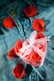 Free Jeans Love-2 Stock Photo - 8215040