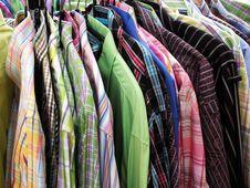 Free Shirts. Royalty Free Stock Image - 8215426