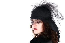 Free Girl In Hat Stock Photos - 8215873