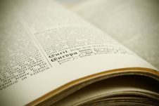 Free Word Europa In Old Book Stock Photography - 8216272
