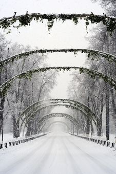 Free Snow Arc Royalty Free Stock Image - 8216366