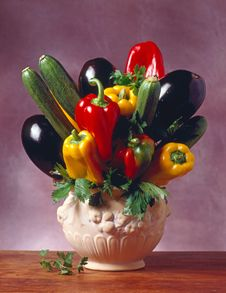Free Jar With Vegetables Royalty Free Stock Photography - 8216967