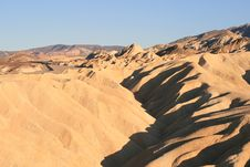 Free Zabriskie Point, Death Valley, California Royalty Free Stock Photography - 8216987